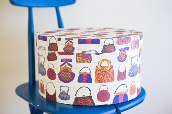 Hat Box L - box and needle on-line boutique