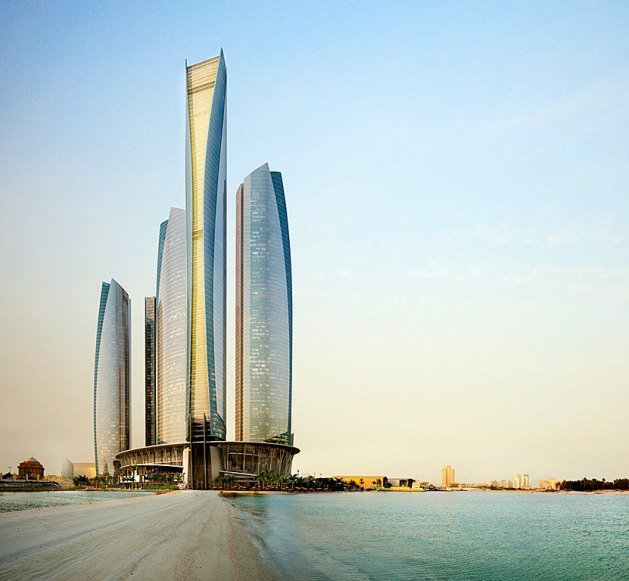 Jumeirah at Etihad Towers - The Hotel - Abu Dhabi Hotel