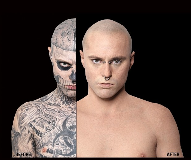 First Look at Lady Gaga's Zombie Boy Sans the Tattoos - Entertainment & Stars