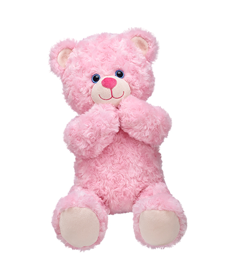16 in. Cuddly Pink Teddy | Build-A-Bear Workshop