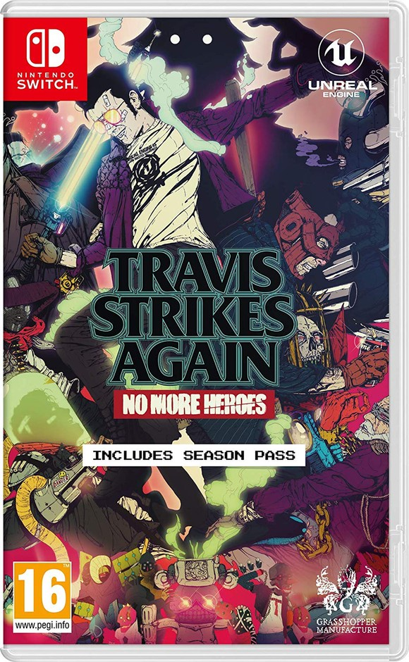 Travis Strikes Again: No More Heroes (Nintendo Switch): Amazon.co.uk: PC & Video Games