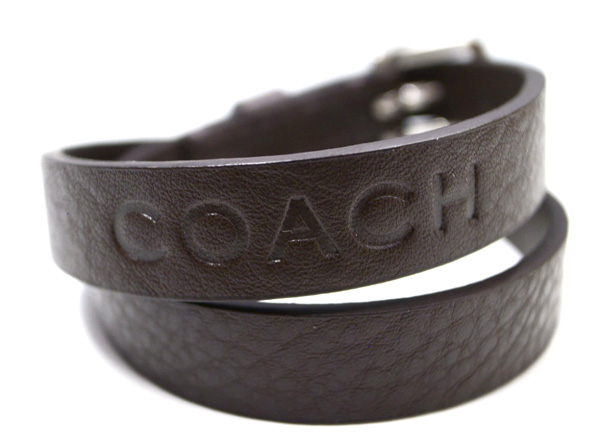 COACH Leather Bracelet BROWN | OTHER SELECT BRAND を通販 | SUPPLY TOKYO online store