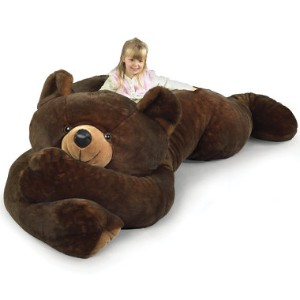 The 7 1/2 Foot Slumber Bear - Hammacher Schlemmer review at Kaboodle