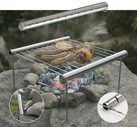 Portable Lightweight Grill | Ultralight Camping Gear - Backpacking ...