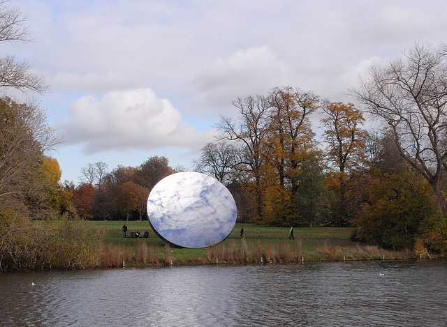 Anish Kapoor 'Sky Mirror' in Hyde Park today | Flickr - Photo Sharing!