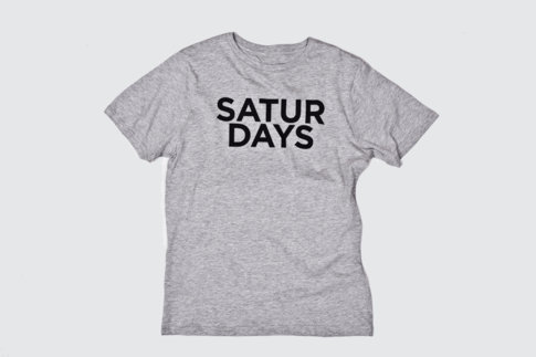 Saturdays Surf NYC | Online Store | Half Type T-Shirt
