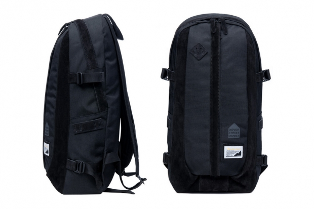 Dover Street Market x master-piece Nylon/Suede Backpack | Hypebeast