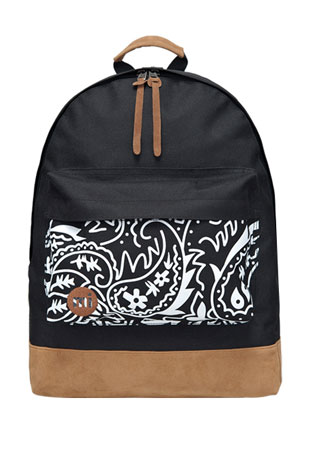 [grzxy6200031]Persia Style Paisley Floral Print Backpack / shopbazar shopping mall