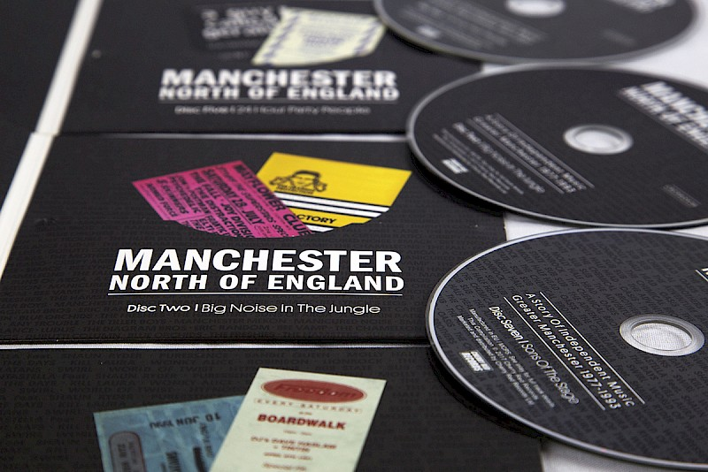 Manchester North Of England Deluxe CD Boxset