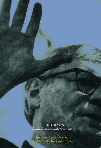 Louis Kahn Architecture at Rice S. : Conversations with Students: Amazon.co.uk: Michael Bell, Lars Lerup: Books