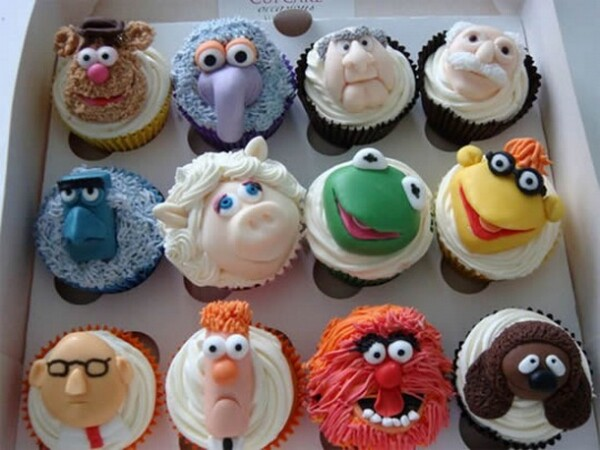 Funny & Yummy Muppets Cupcakes