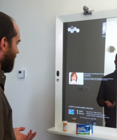 New York Times' magic mirror helps you get dressed, puts the 'wall' in 'paywall' (video) -- Engadget