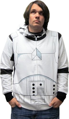 Star Wars Stormtrooper Zip-Up Costume Hoodie