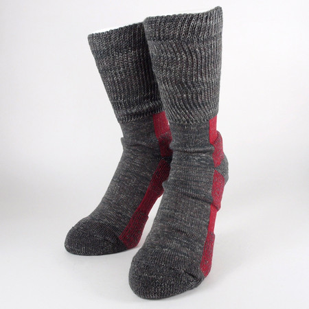 HEATHER SOCKS (by the CRAFTSMAN CHUP) Brown
