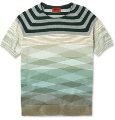Missoni Knitted Cotton Crew Neck T-Shirt | MR PORTER