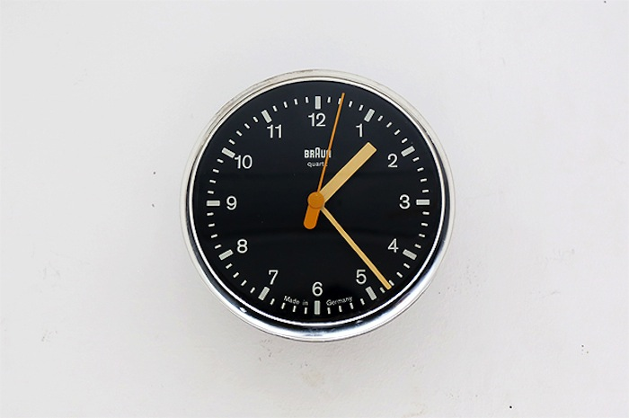 sold out: BRAUN Vintage Clock / Type 4833 - doinel/ドワネル