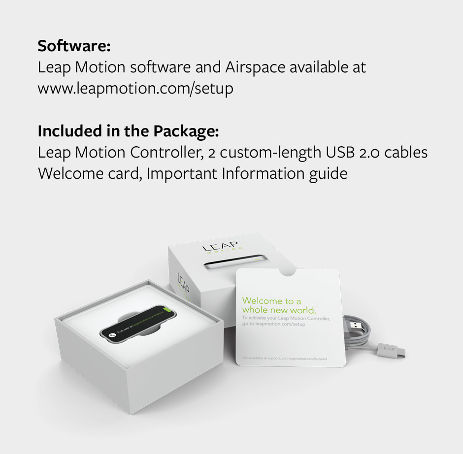 About | LEAP Motion