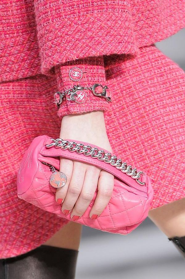 pink / Chanel Details A/W '13