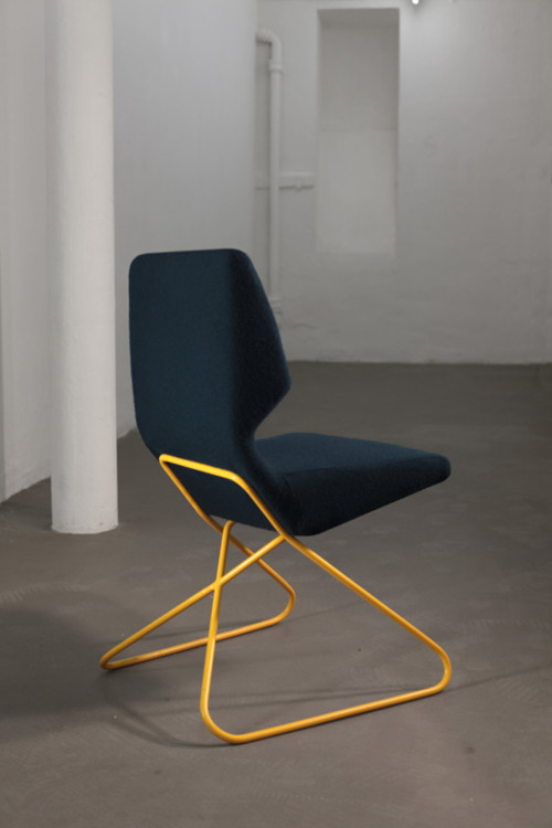 ideasABOUTnothing | Wire base chair