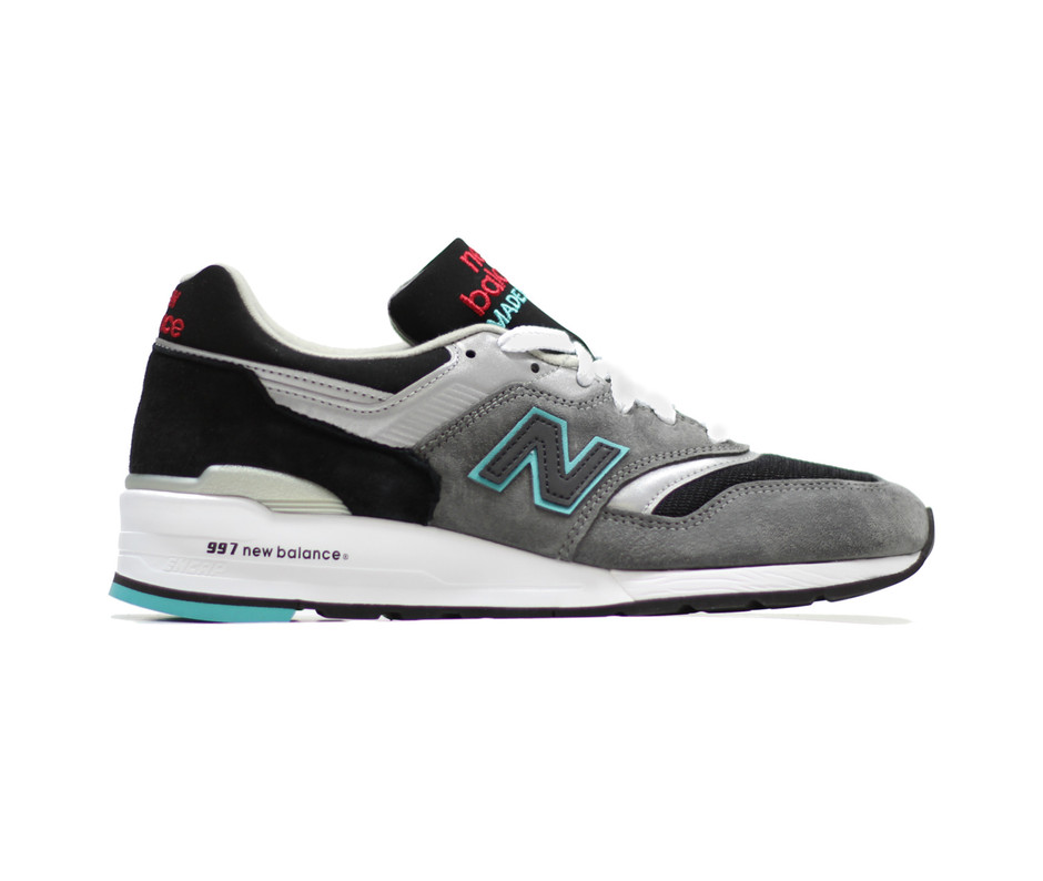 NEW BALANCE: M997CGB - Grey/Black - HEIST NY