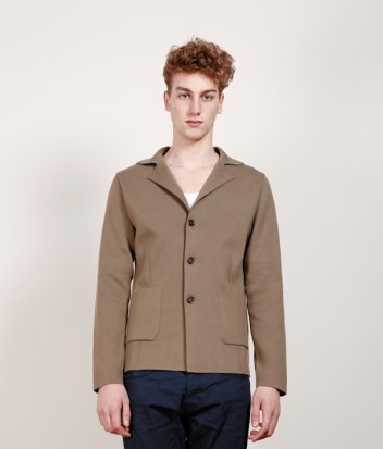 CHAUNCEYSTORE - Cotton three buttons blazer
