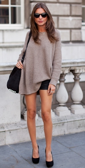 How they wear KNITS / the sweater
