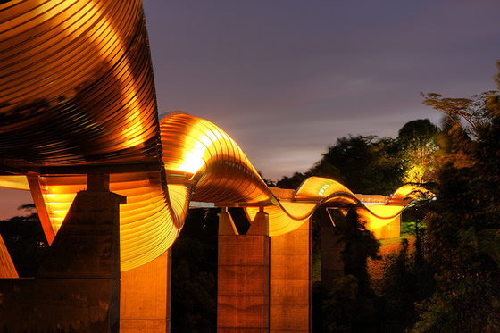Henderson Waves Bridge - Places in Singapore   World Top Top