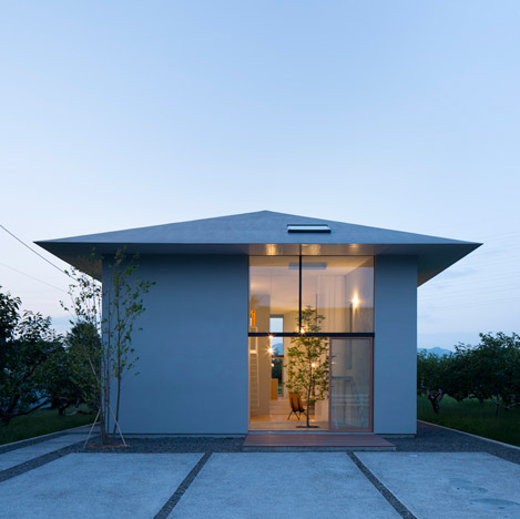 Airhouse Design Office creates a hierarchy of rooms inside this house