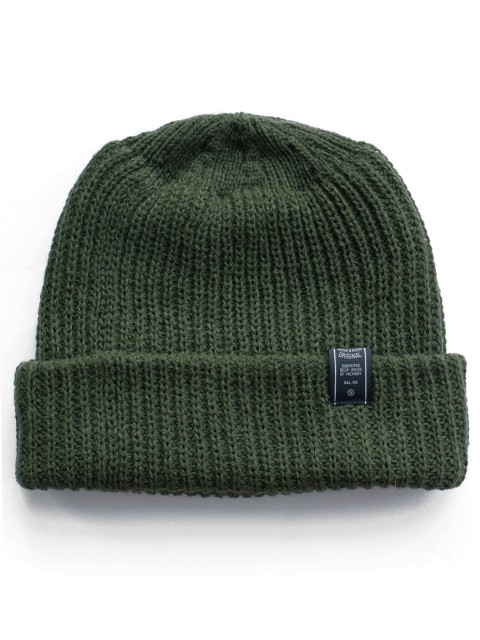 LOVE online store|MEN Loose Gage Beanie (olive)