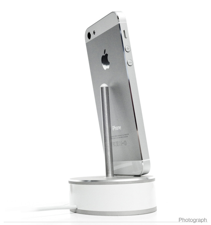 Podi-m: charging dock for iPhone 5, 4, Micro USB, iPad Mini by Laine Scandalis — Kickstarter