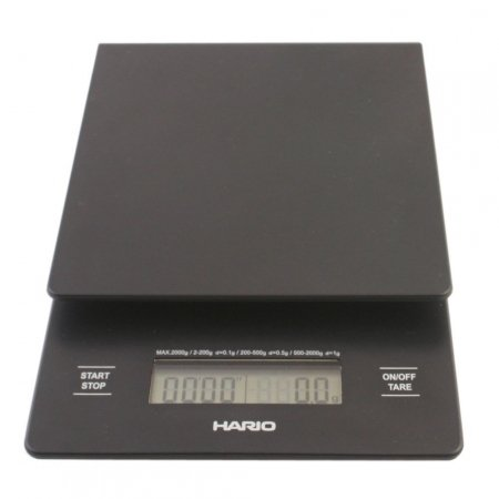 Amazon.com: Hario V60 Drip Pour Over Coffee Scale and Timer VST-2000: Kitchen & Dining