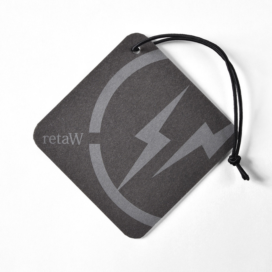 car tag FRAGMENT* black | retaW