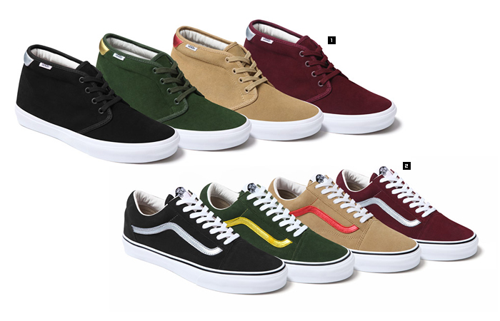 Supreme / Vans®|NEWS -FASHION-|honeyee.com Web Magazine
