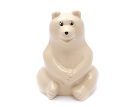Polar Bear Money Box : biotope