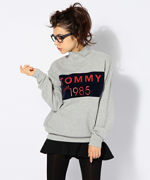 TOMMY Hers / HIGH-NECKED OVERSIZED PO(スウェット) - ZOZOTOWN