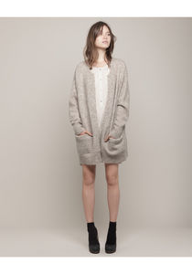 Acne / Raya Long Cardigan | La Garconne