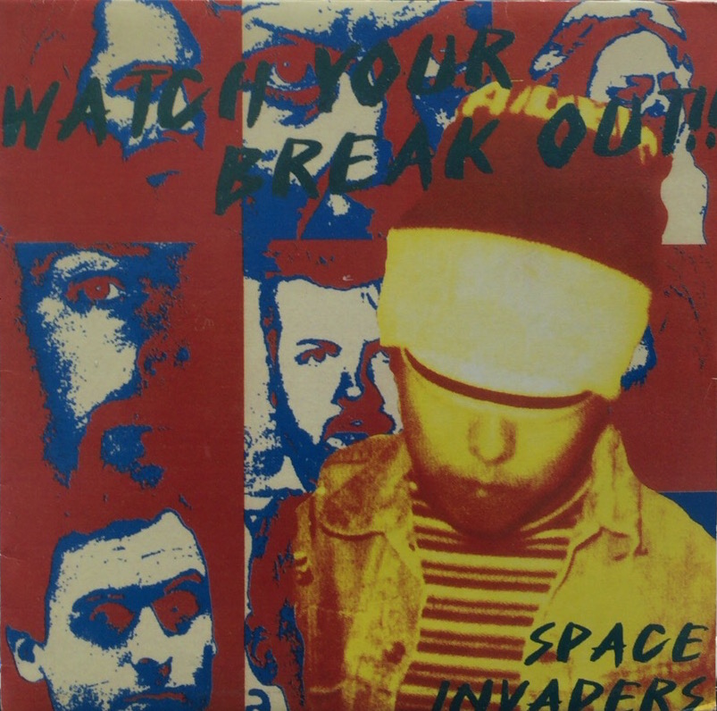 SPACE INVADERS / Watch Your Break Out King's World LP Vinyl record 中古レコード通販