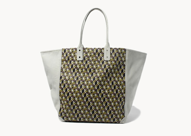 Undercover 'Fuck Pattern' Leather Tote • Highsnobiety