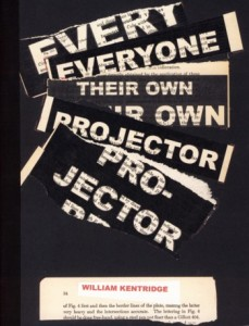 Everyone Their Own Projector | David Krut Publishing and Arts Resource