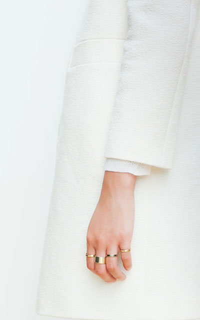 PACK OF FOUR RINGS IN DIFFERENT SIZES - Accessories - Woman - New collection | ZARA United Kingdom