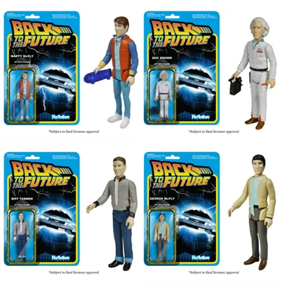 Funko ReAction Back to the Future Doc Emmett Brown 3.75 Action Figure