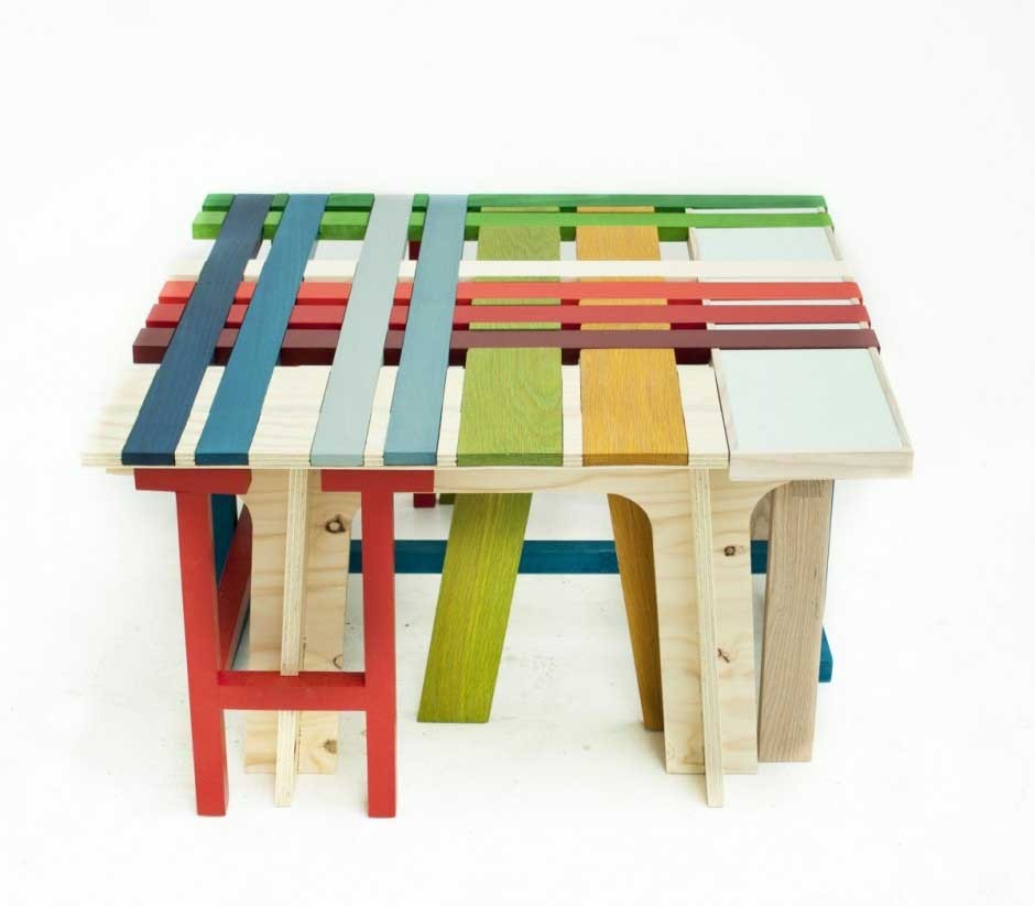 RainbowBench Collection by Raw-Edges Design for Dilmos Milano - design top news