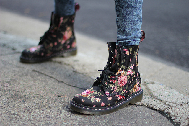 Floral Dr. Martens, and Why Tavi Rules | Amy Creyer's Chicago Street Style Fashion Blog