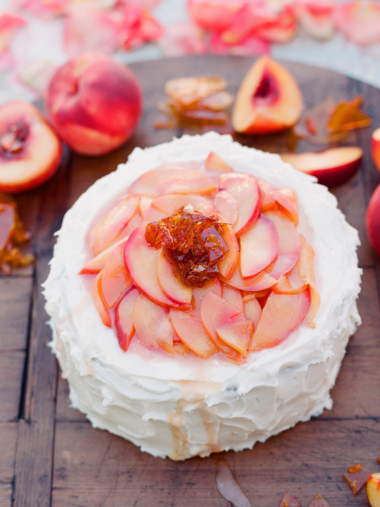 kiss the groom » Blog Archive » peach cake….