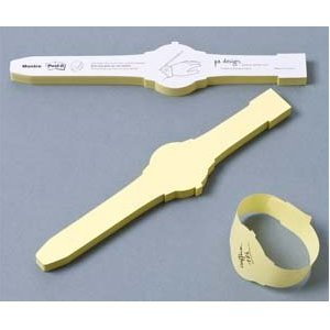 Sticky Note Wrist Watch - 1 Pad:Amazon:Office Products
