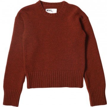 MARGARET HOWELL - MHL BASIC CREW - KNITWEAR - WOMEN