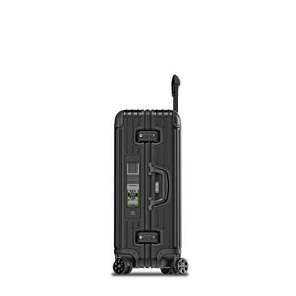 Topas Stealth Multiwheel® Electronic Tag 67.0L ブラック Suitcase | RIMOWA