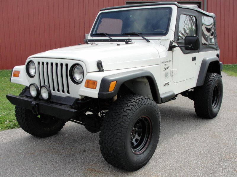 JEEP WRANGLER SPORT stk # 928 - Gilbert Jeeps and 4x4's for sale