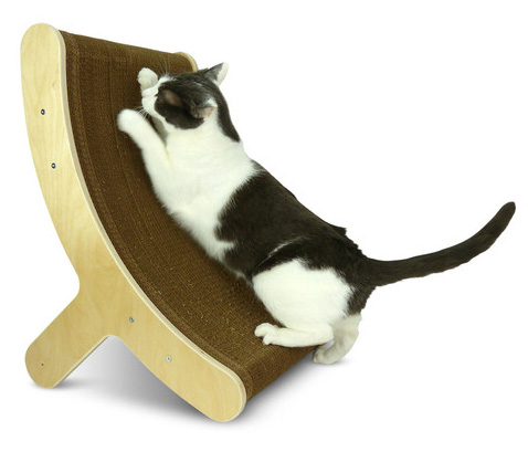 Fancy - NEW! Hepper Itch Cat Scratcher Offers Multi-position Scratching|moderncat :: cat products, cat toys, cat furniture, and more…all with modern style