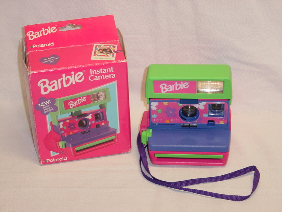 WTSell: MediumFormat - Polaroid Polaroid Barbie Camera with box